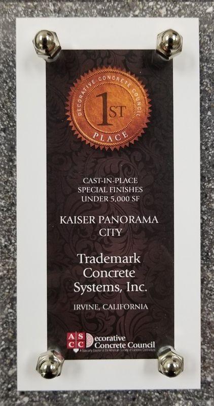 Trademark Award