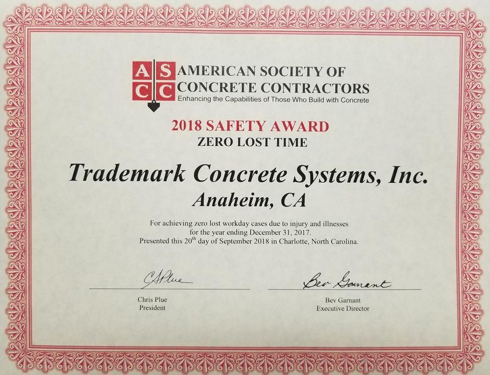 Trademark Concrete | News